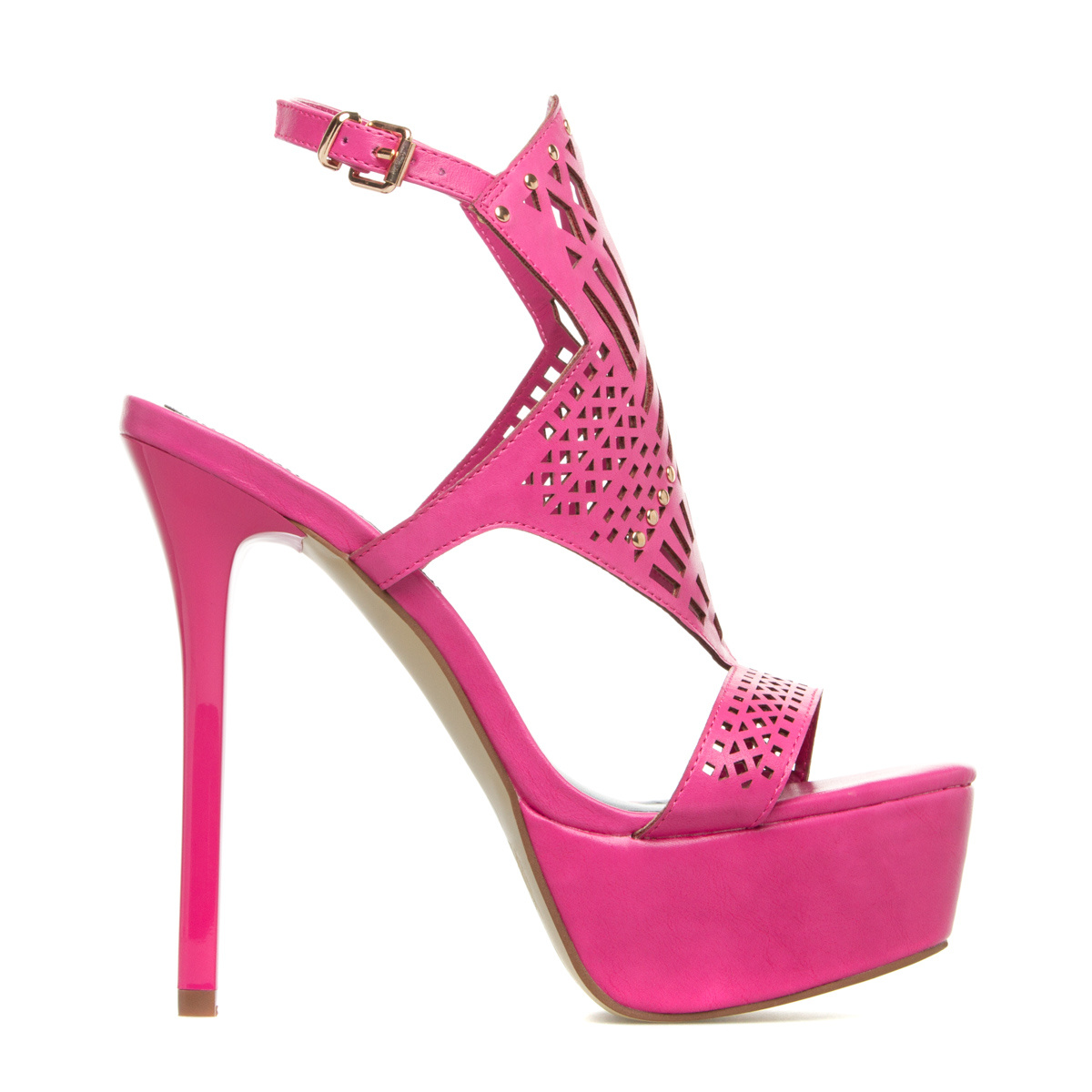 """""ShoeDazzle Sandals-Dressy - Platform Teva Womens Pink Size 6.5"""""" DA1511956-7610-35065"