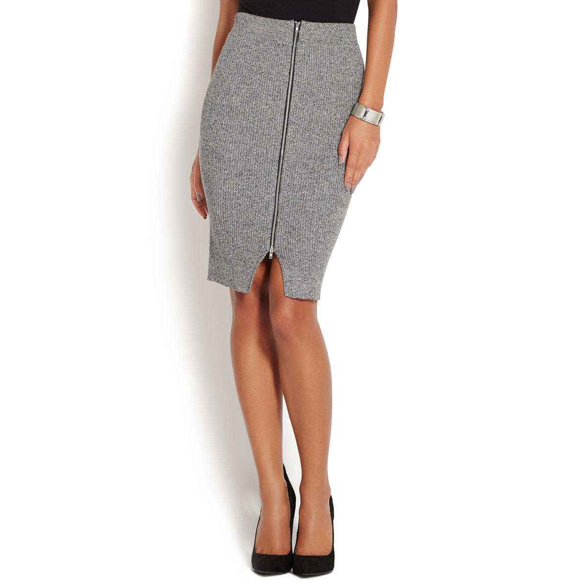 Zipper Front Skirt 97