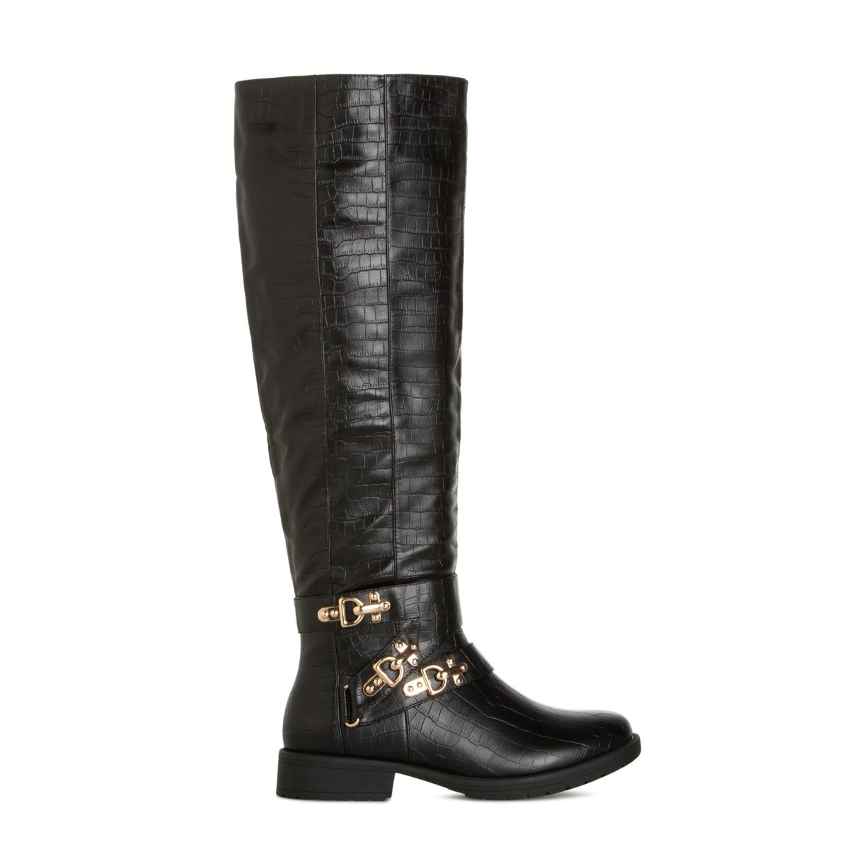 Women's Cowboy Boots, Black Riding Boots, Cheap Knee High Boots ...