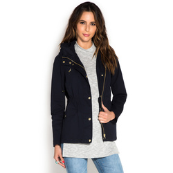 HOODED PARKA JACKET - ShoeDazzle