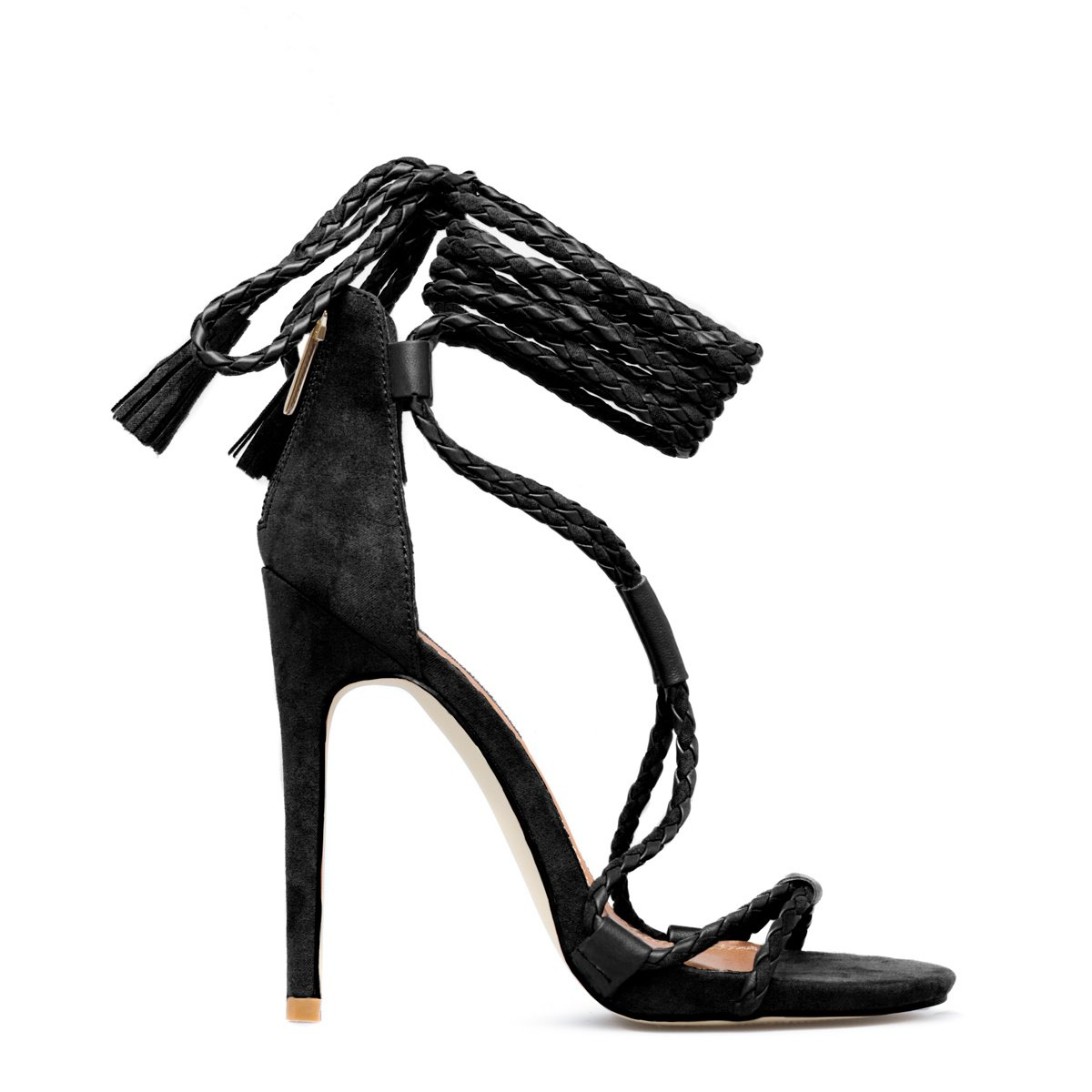 Cheap Strappy Sandals Heels