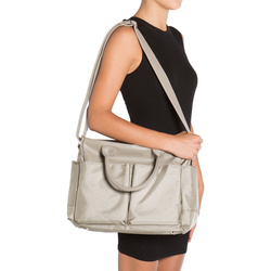 EBBY DIAPER BAG/CARRY-ALL SATCHEL