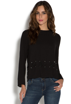 CROSSHATCH BLOUSE