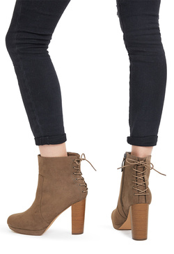 High Heel Ankle Boots - 2 Pairs for $39.95 for New Members!