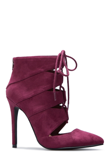 bf8b6633b64 Color  WINE  Outside Heel Height  4.5