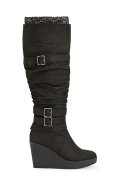 Women's Wedge Boots - Buy 1 Get 1 Free for New Members!