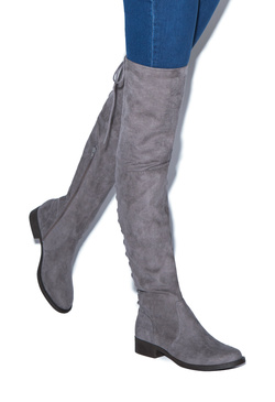 Women's Grey Boots - New Members Buy 1 Get 1 Free!