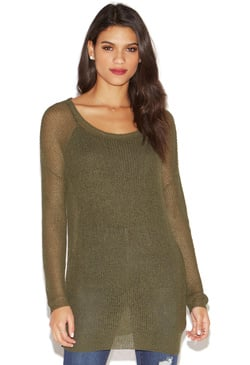 LIGHTWEIGHT TUNIC SWEATER