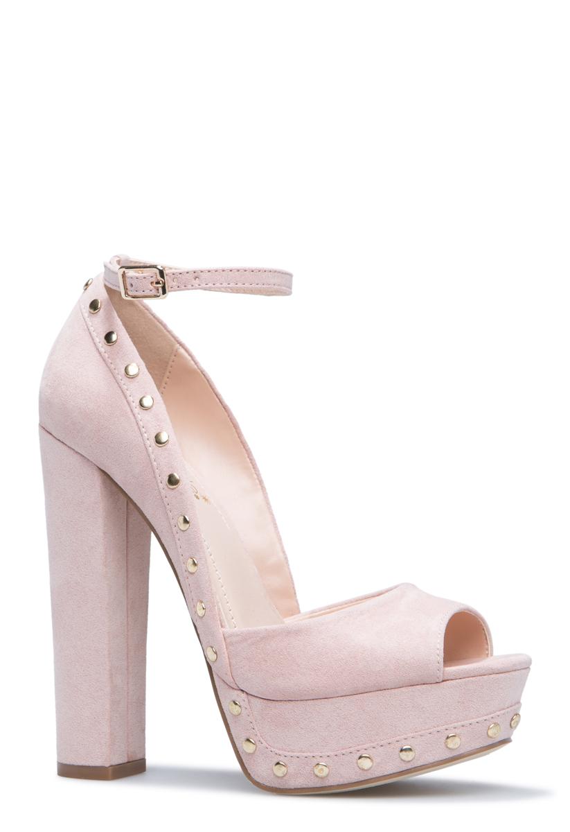 """""""""""ShoeDazzle Pumps Patita Pump Womens Pink Size 6.5"""""""""""" PP1720556-7410-35065"""
