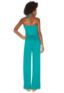 CROCHET NECK JUMPSUIT