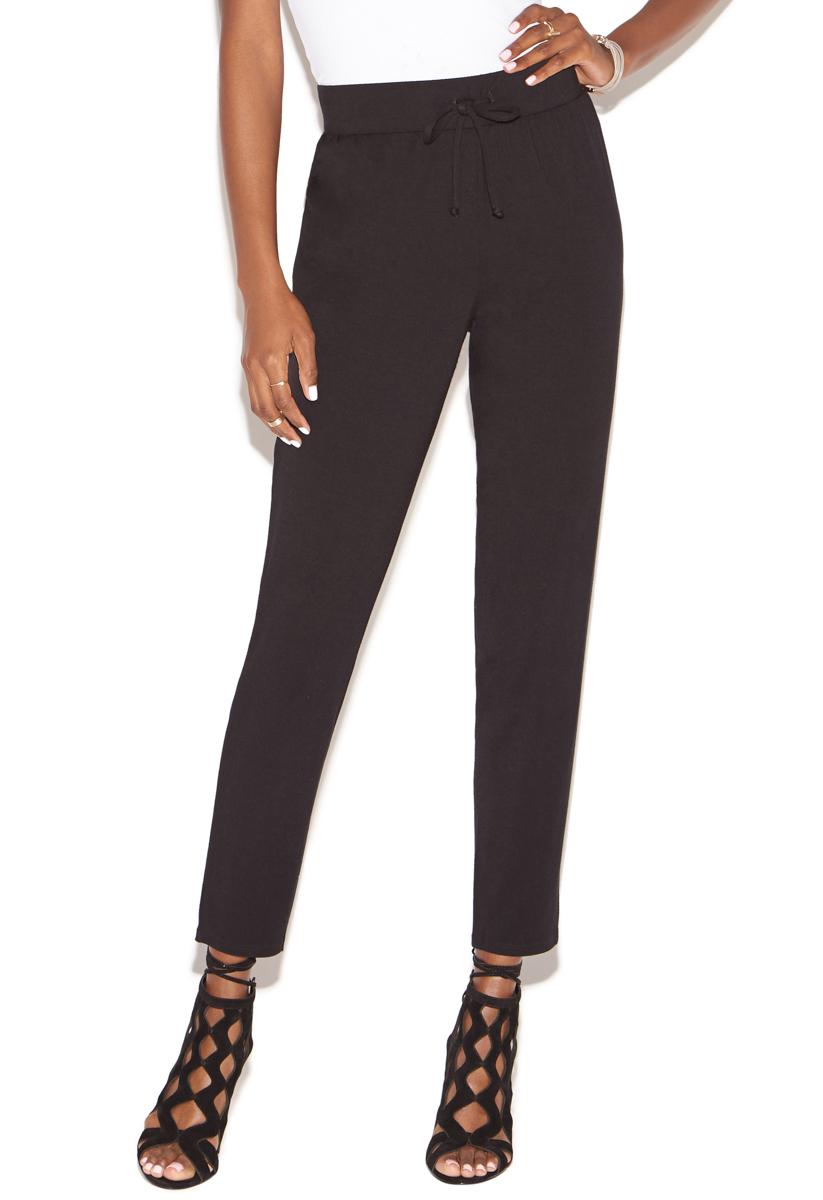 """""""""""ShoeDazzle Pants/Leggings Knit Jogger Pant Womens Black Size XXL"""""""""""" PT1720229-0001-44060"""