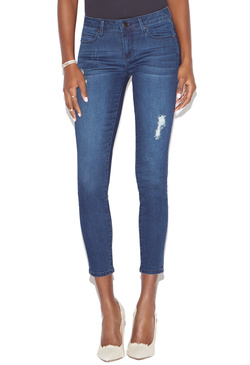DISTRESSED SKINNY ANKLE GRAZER