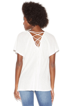 BACK LACE-UP TOP