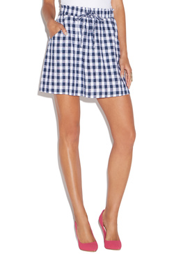 MINI GINGHAM SKIRT