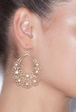 PETAL TO THE MEDAL EARRINGS