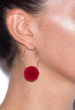 POM ME AWAY EARRINGS