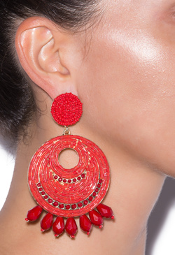 STONE COLD STATEMENTS EARRING