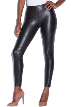 FAUX LEATHER MOTO LEGGING