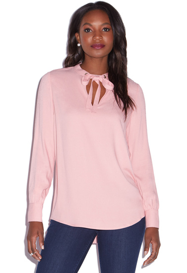 c0827124df7da TIE BOW BLOUSE - ShoeDazzle