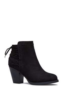 YOLINDA LACE UP BOOTIE