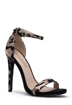 Black and Gold Heels - 2 Pairs for $39.95 for New Members!
