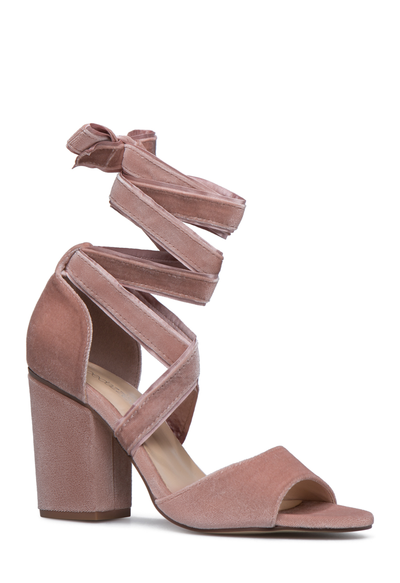 Chunky Heel Sandals - 2 Pairs for $39.95 for New Members!