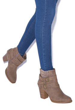 RILEY WRAPAROUND BUCKLE BOOTIE