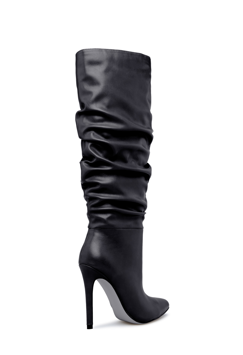 fe9a16aaa0c9 Color  BLACK  Sizing  Shaft height   calf circumference increases or  decreases by 0.5
