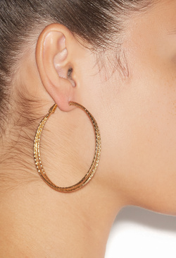 DARING HOOP EARRINGS