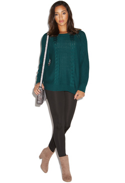 DOLMAN PULLOVER SWEATER