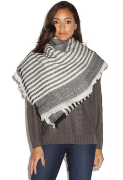 STRIPES ON STRIPES SCARF
