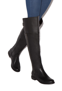 ERIN BUCKLED FLAT BOOT