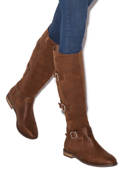 FABIOLA TRIPLE BUCKLE BOOT