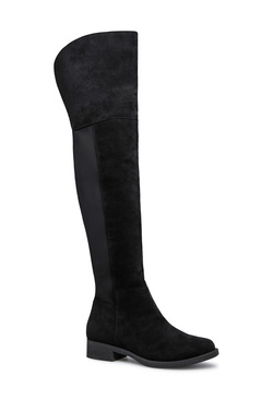 AALIYAH THIGH-HIGH FLAT BOOT