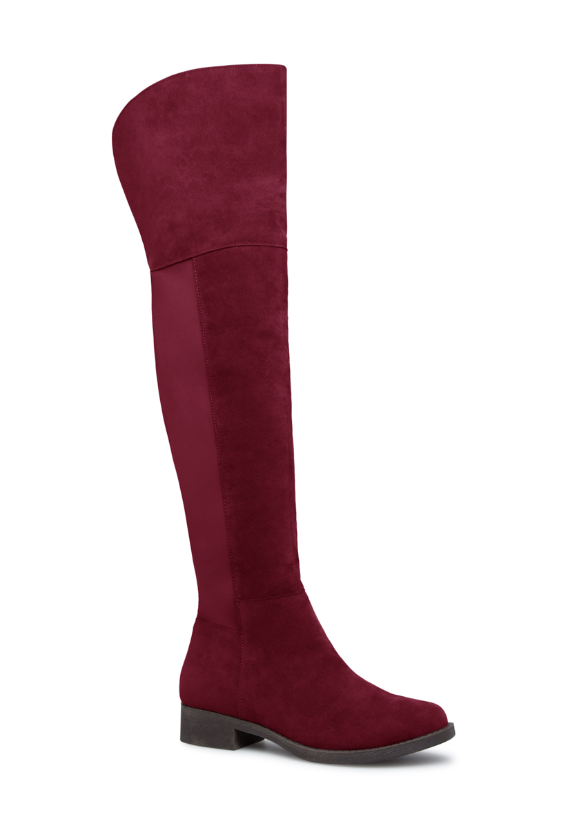 JESSI THIGH HIGH BOOT ShoeDazzle