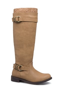 BAMBI FLAT BUCKLED BOOT