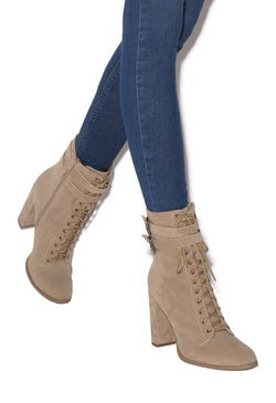 GRETCHEN MILITARY BOOTIE
