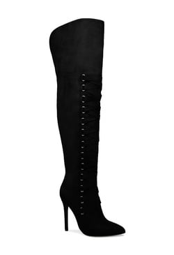 OLIVIA THIGH-HIGH CORSET BOOT