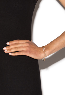 GOLDEN CHILD OPEN CUFF BRACELET