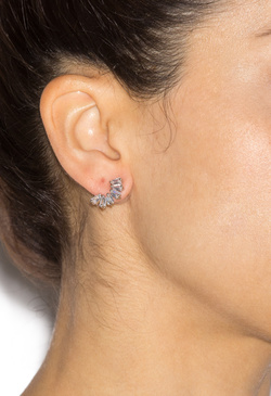 SPARKLE UP EAR CLIMBERS EARRINGS