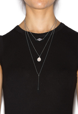 LARIAT IN LAYERS NECKLACE