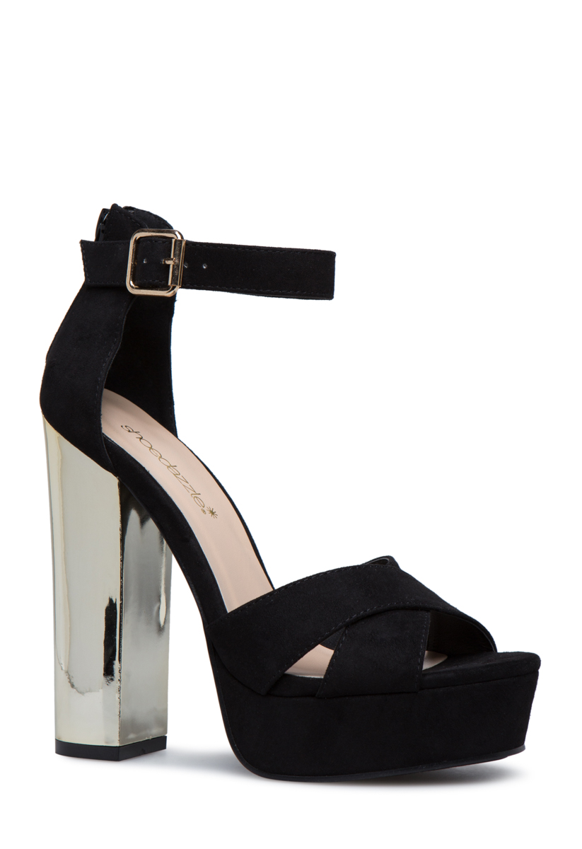 Platform Heels - 2 Pairs for $39.95 for New Members!