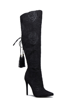 REBEKKA FLORAL LACE BOOT