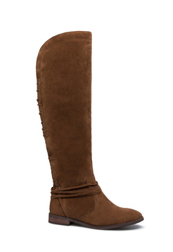 LOU LACE-UP BACK BOOT