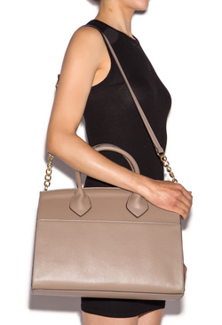TAYLER STRUCTURED SATCHEL