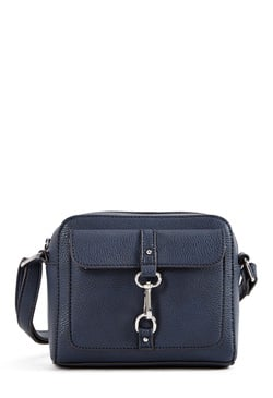 TRISTAN BUCKLED CROSSBODY BAG