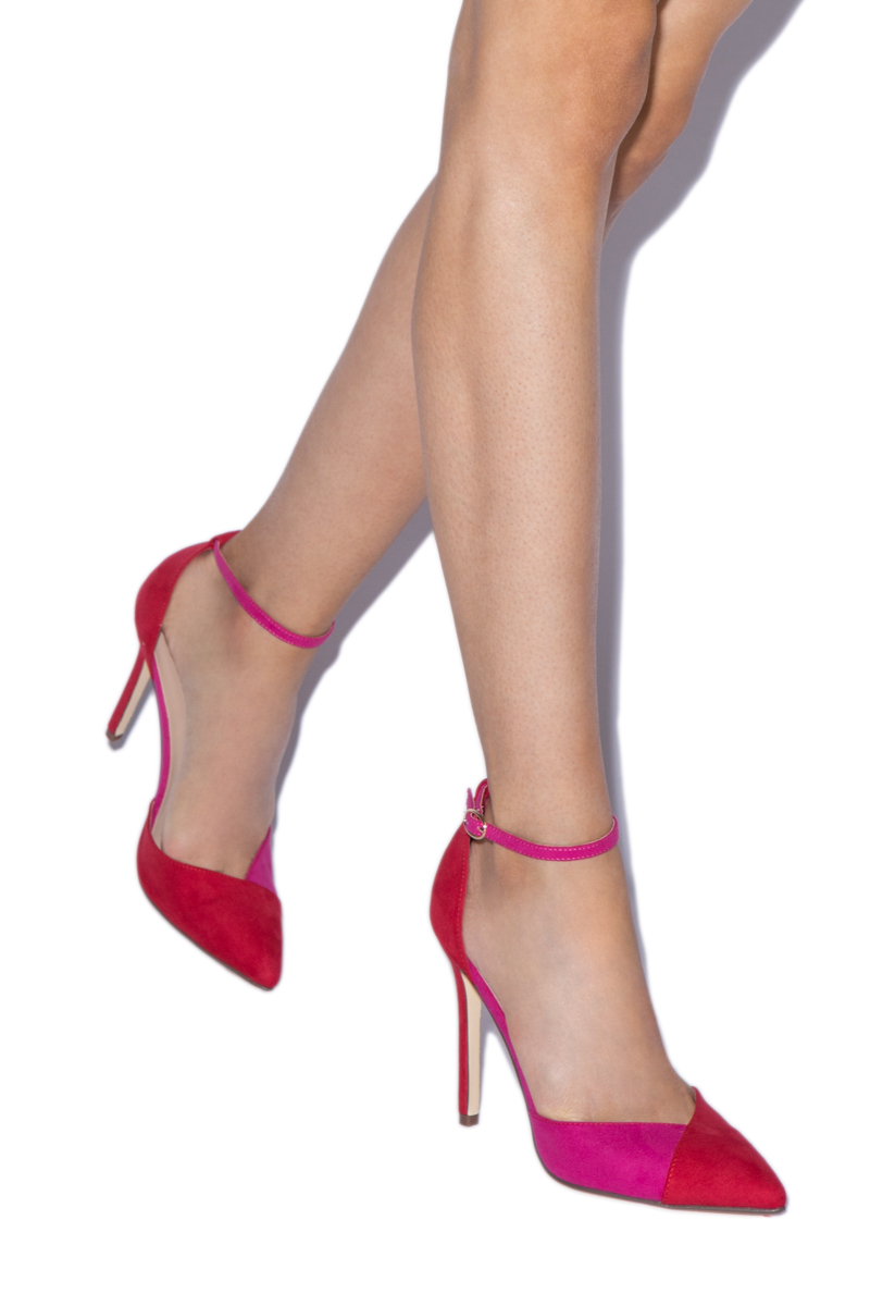 1c84f3259fec Color  PINK RED  Outside Heel Height  4.75