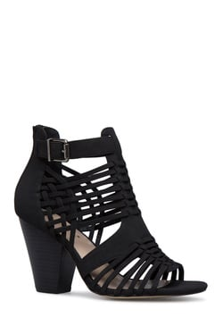 THANDIE CAGED HEELED SANDAL