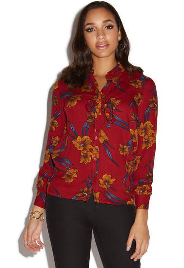 a1817d83c9ad2 RETRO BOW BLOUSE - ShoeDazzle