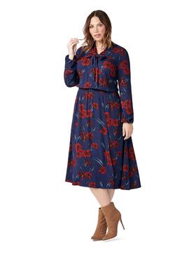 56aa2c10560 RETRO SHIRT DRESS ...